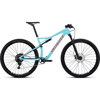 Specialized Epic Men Comp 29 Gloss Light Blue/Rocket Red 2018