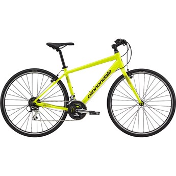 Cannondale Quick 7 Neon Spring, with Jet Black, Charcoal Grey, Reflective Detail, Gloss