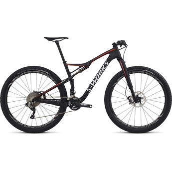 Specialized S-Works Epic FSR Carbon Di2 29 Satin Gloss Carbon/Rocket Red/White