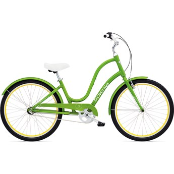 Electra Townie Original 3i Leaf Green Damcykel 2016