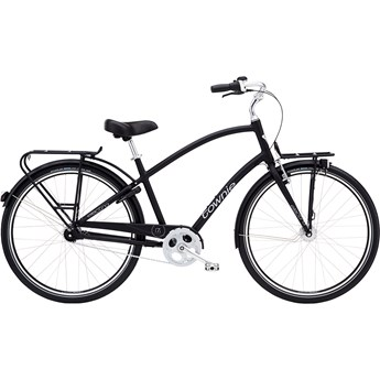 Electra Townie Commute 7i Step-Over Black Satin 2020