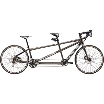 Cannondale Road Tandem Anthracite with Fine Silver, Cashmere and Jet Black, Gloss