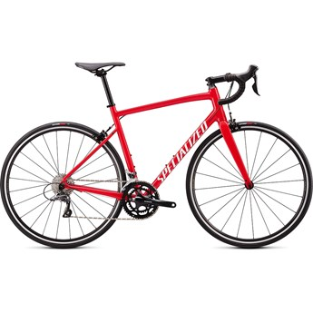 Specialized Allez E5 Gloss Flo Red/White Clean