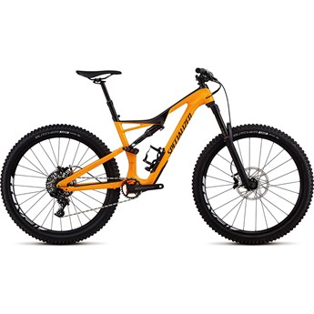 Specialized Stumpjumper FSR Comp Carbon 27,5 Gloss Gallardo Orange/Carbon/Black 2018