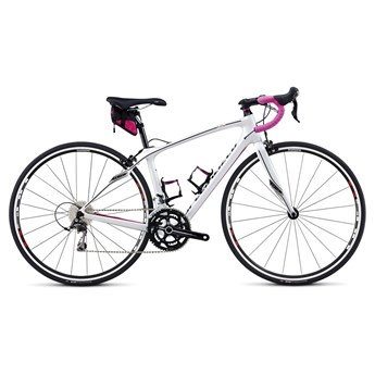 Specialized Ruby Sport 105 C2 EQ EU Metallicvit/Rosa
