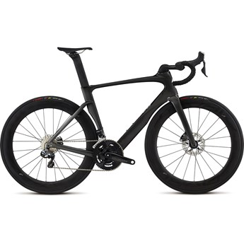 Specialized Venge Pro Disc Vias Ultegra Di2 Gloss Tarmac Black/Charcoal/Clean