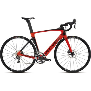 Specialized Venge Expert Disc Vias Gloss Rocket Red/Tarmac Black/Carbon