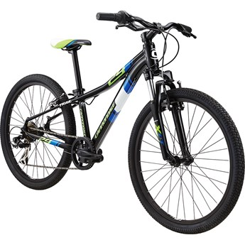Cannondale Trail 24 Boys Jet Black with Berserker Green, Nu Team Blue and Magnesium White, Gloss