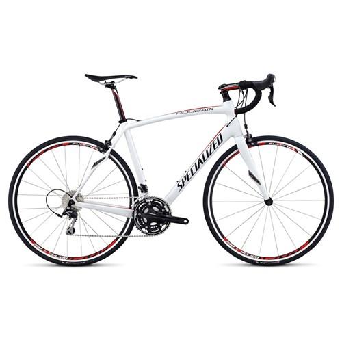 Specialized Roubaix SL4 Elite 105 X3 Vit/Röd/Svart