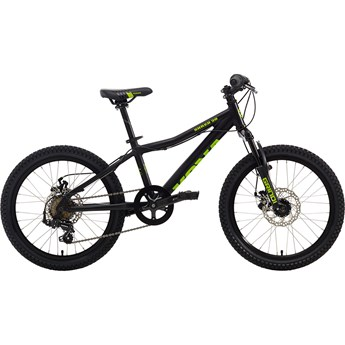 Kona Shred 2-0 Matt Black with Monster Green Decals