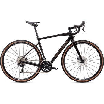 Specialized Diverge Comp Carbon Gloss Carbon/Gunmetal Reflective Clean