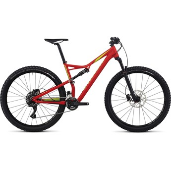 Specialized Camber FSR Comp 29 Flo Red/Hyper Green/Monster Green