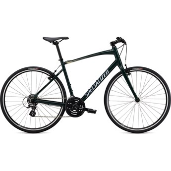 Specialized Sirrus 1.0 Gloss Forest Green/White Mountains/Satin Black Reflective