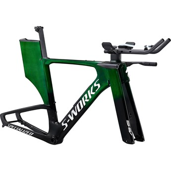 Specialized Shiv S-Works Disc Module Green Tint Over Spectraflair/Flake Silver