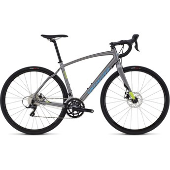 Specialized Diverge Sport A1 CEN Satin Sterling/Hyper/Cyan