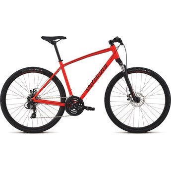 Specialized Crosstrail Mech Disc Int Rocket Red/Limon/Black
