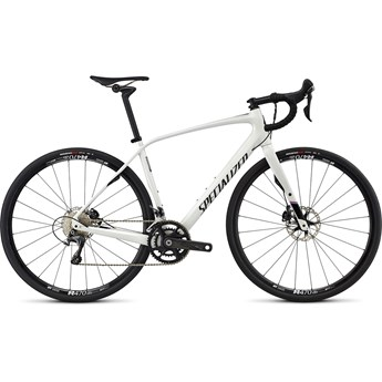 Specialized Diverge Expert Cen Gloss Dirty White/Satin Carbon/Martini Stripe