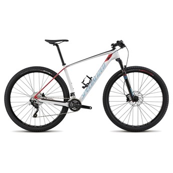 Specialized Stumpjumper Hardtail Comp Carbon 29 White/Red/Black/Cyan