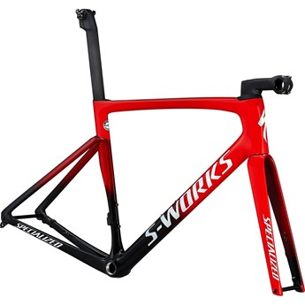 Specialized Tarmac SL7 S-Works Frameset Flo Red/Red Tint/Tarmac Black/White 2021