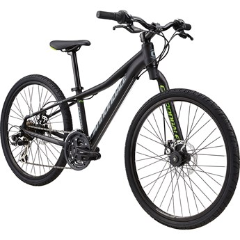 Cannondale Street 24 Kids Jet Black with Berserker Green, Stealth Grey and Nearly Black, Matte