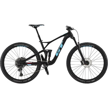 GT Sensor Carbon Elite Satin Raw with Gloss Aqua Blue and Red 2019