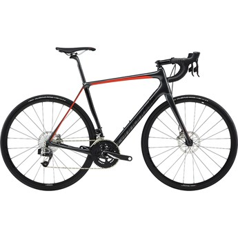 Cannondale Synapse Carbon Disc Red eTap Svart 2019