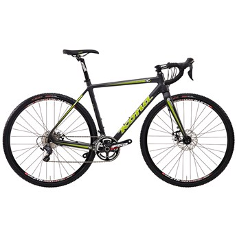 Kona Major Jake Matt Unidirectional Carbon with Lime and White