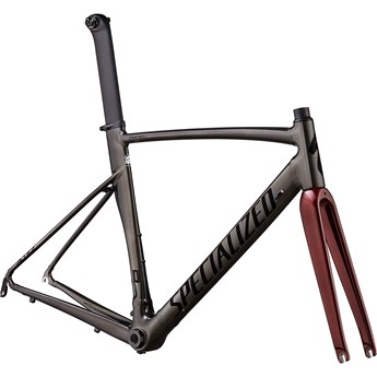 Specialized Allez Sprint Frameset Polished Chrome Black/Black/Crimson Metallic