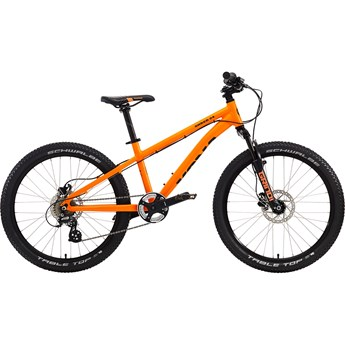 Kona Shred 2-4 Matt Orange with Black Decals