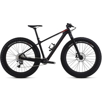 Specialized S-Works Fatboy Satin Carbon/Gloss Black/Rocket Red