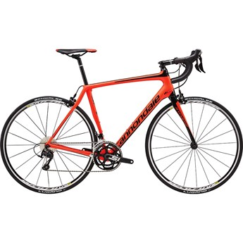 Cannondale Synapse Carbon 105 Acid Red with Jet Black, Matte