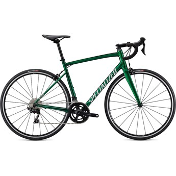 Specialized Allez E5 Elite Gloss Green Tint-Silver Base/Silver/Carbon 2021