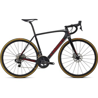 Specialized S-Works Tarmac Disc Etap Satin/Gloss Carbon/Flo Red/Metallic White