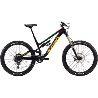 Kona 167 Process Matt Black with Gloss Green, Yellow and Red Decals