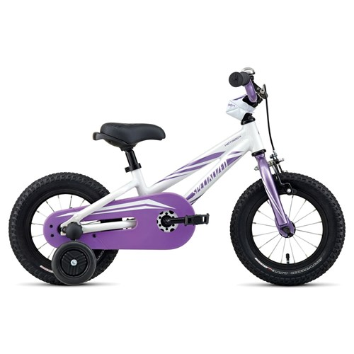 Specialized Hotrock 12 Coaster Girls Sparkle White/Purple 2016