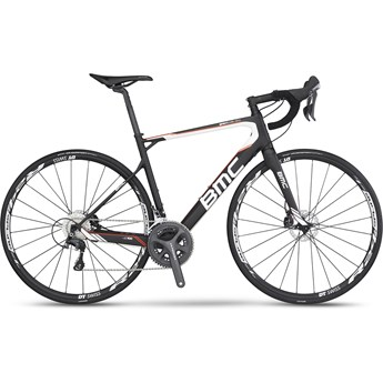 BMC Granfondo GF01Disc Ultegra Compact Materialfärg, Vit och Orange 2016