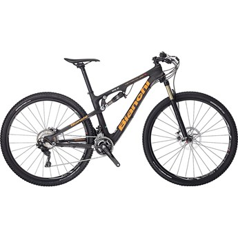 Bianchi Methanol 29.2 FS Black Matt/Orange Logo/Graphite Line