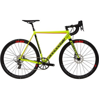 Cannondale CAAD12 Disc Force 1 Volt with Jet Black and Acid Red, Gloss