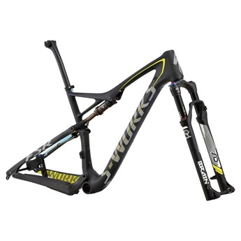 Specialized S-Works Epic FSR Carbon 29 Frameset (Rampaket) Carb/White/Lt Blue/Brt Yellow