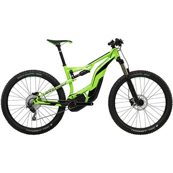 Cannondale Moterra 3 Berserker Green with Charcoal Grey and Jet Black, Gloss