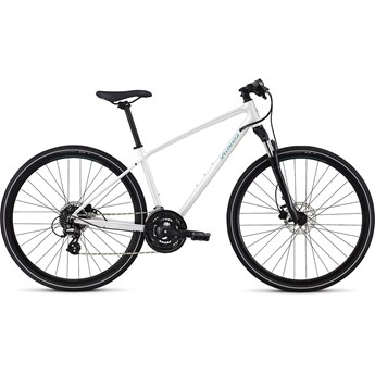 Specialized Ariel Disc INT Metallic White Silver/Flake Silver/Turquoise