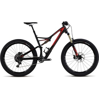 Specialized Stumpjumper FSR Expert Carbon 6Fattie Gloss/Silver Tint Carbon/Rocket Red/Flo Red