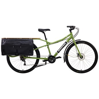 Kona Ute Matt Olive with Silver, White and Black