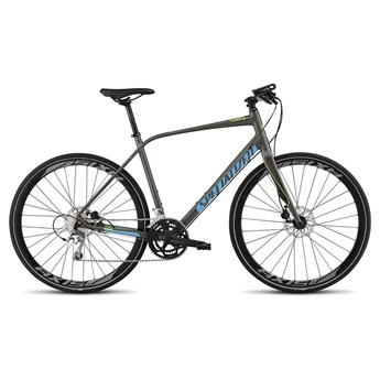 Specialized Sirrus Comp Disc Gunmetal/Cyan/Hyper Green