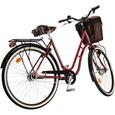 Skeppshult Natur Premium 7 Damcykel Vintage Red