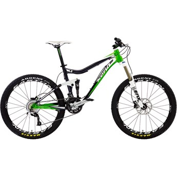 Kona Cadabra Brushed Black/Lime Green/White
