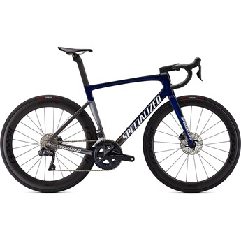 Specialized Tarmac SL7 Pro UDi2 Blue Tint Fade/Smoke/Metallic White Silver 2021