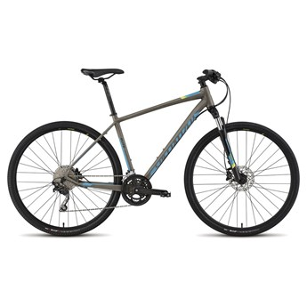 Specialized Crosstrail Elite Disc Raw/Cyan/Hyper Green