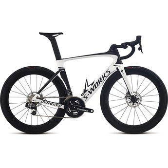 Specialized S-Works Venge Disc Vias Etap Gloss Metallic White/Satin Carbon/Black