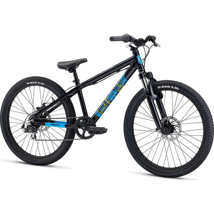 "Mongoose Fireball 24"" Svart"